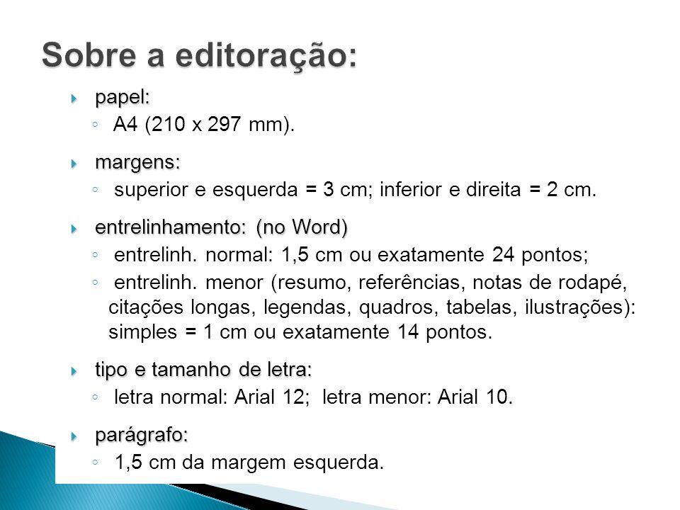 papel: papel: A4 (210 x 297 mm).