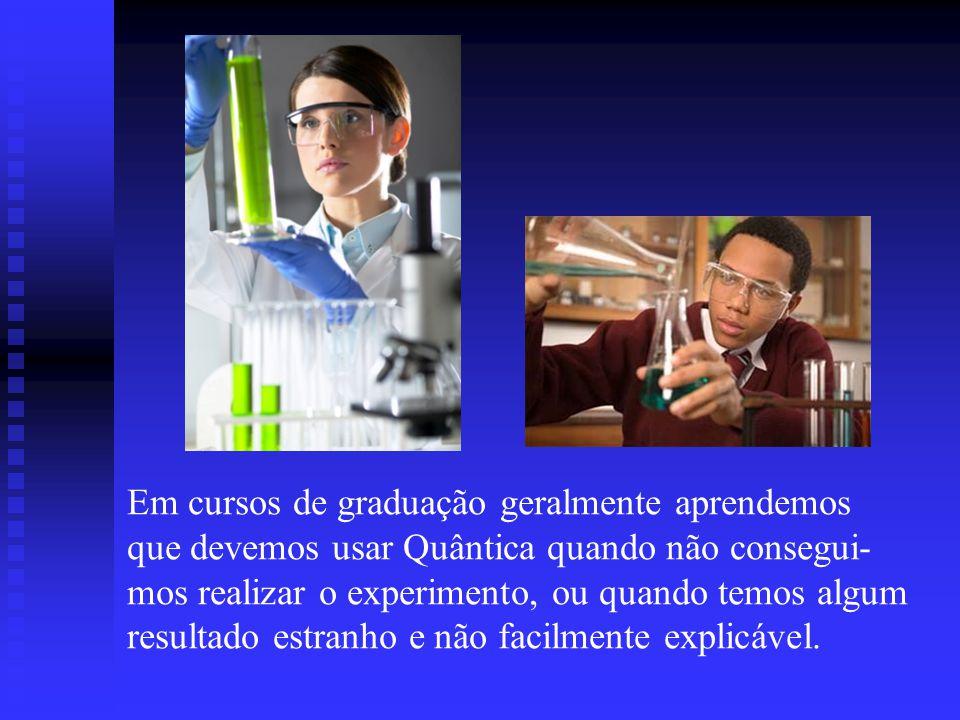 XXIX ENEQui, Curso 9, Aula #196 A seguir veremos os principais métodos usados em Química Quântica, e o que podemos obter em termos de valores de propriedades...