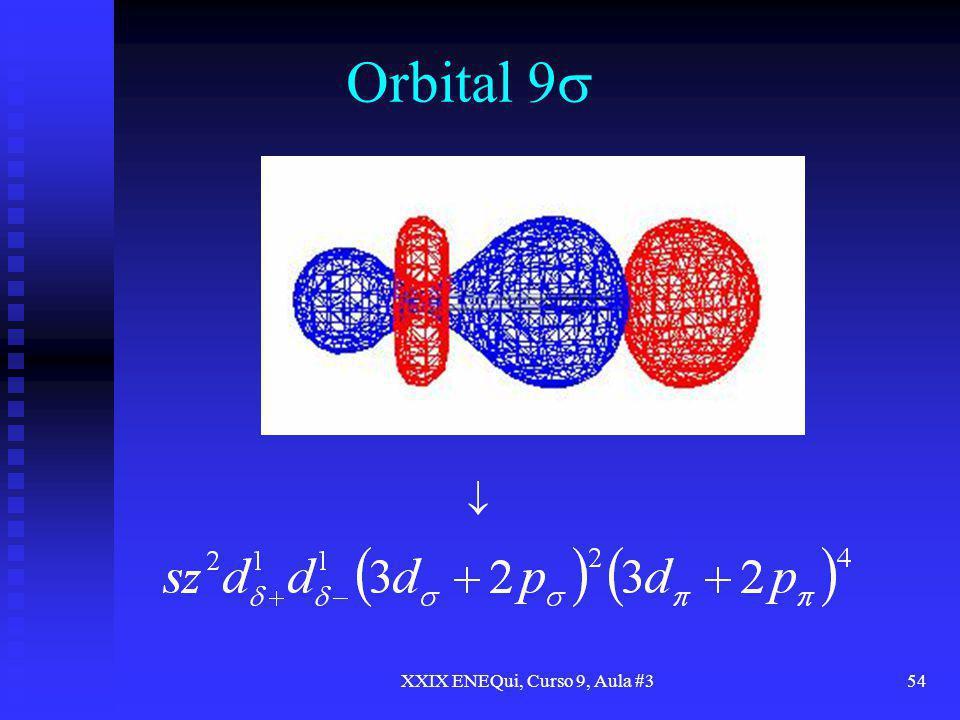 XXIX ENEQui, Curso 9, Aula #354 Orbital 9