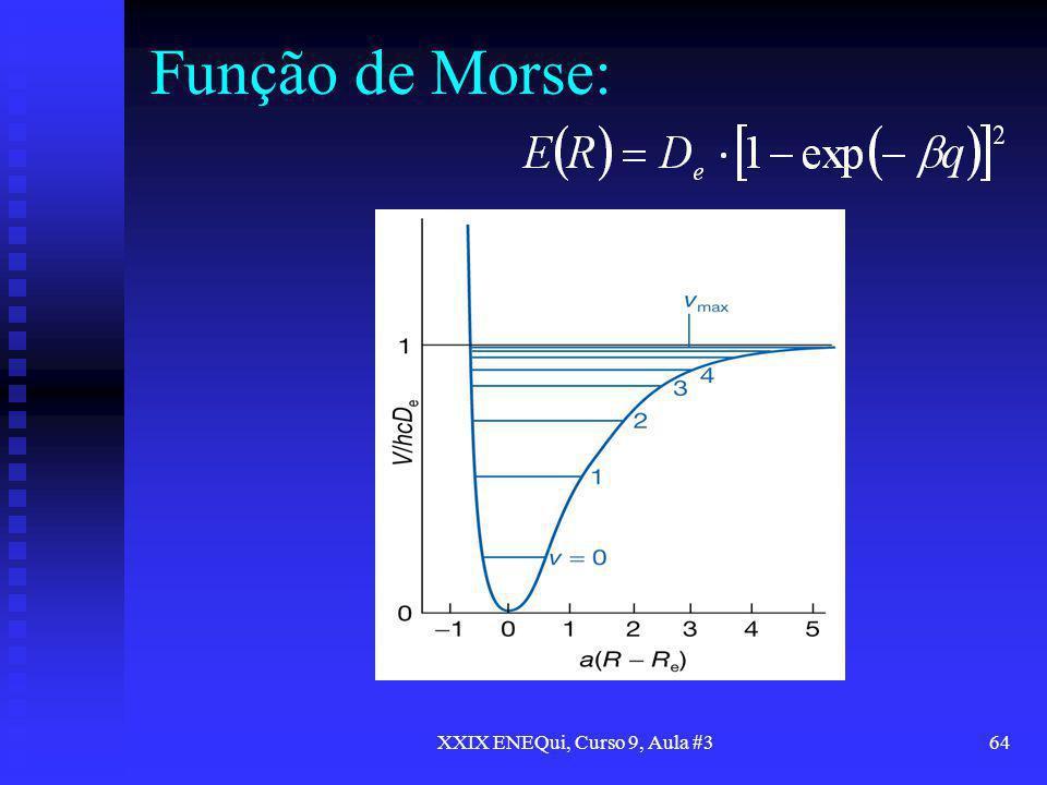 XXIX ENEQui, Curso 9, Aula #364 Função de Morse: