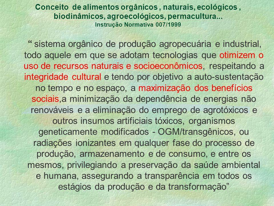 A ênfase dada aos aspectos de controle de qualidade por critérios físico-químicos e microbiológicos, cuja preocupação central é a durabilidade e higie