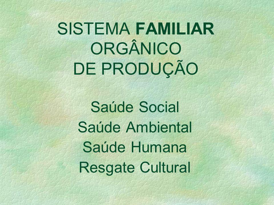 Conceito de alimentos orgânicos, naturais, ecológicos, biodinâmicos, agroecológicos, permacultura... Instrução Normativa 007/1999 sistema orgânico de