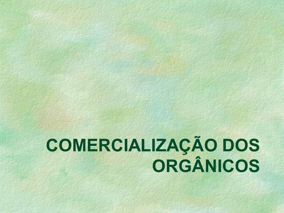 O perfil dos consumidores orgânicos não está baseado somente nas preocupações com a sua saúde ou com as demandas decorrentes do modo de vida urbano. M