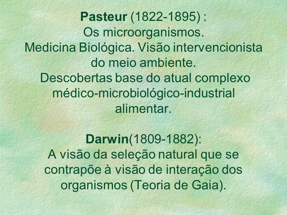 SÉCULO XIX – Modernidade Percepção Instintiva à Percepção Científica Lavoisier, Claude Bernard, Liebig e Magendie(1840), Meyer e Helmhoz(1842-1847) Vo