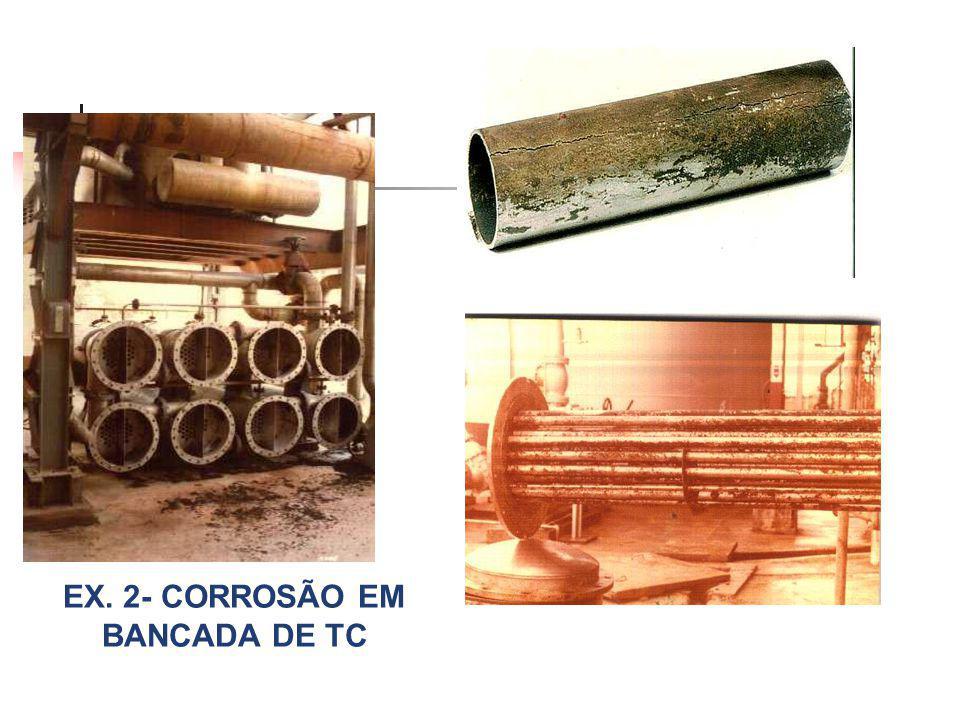 EX. 2- CORROSÃO EM BANCADA DE TC