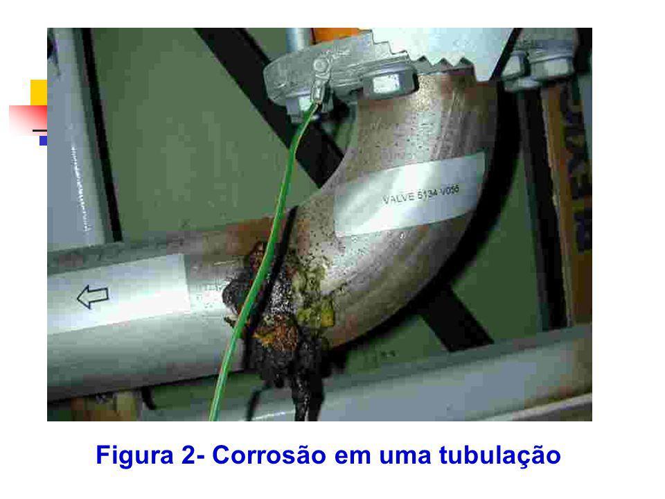 Figura 3- Corrosão em um sistema de solda