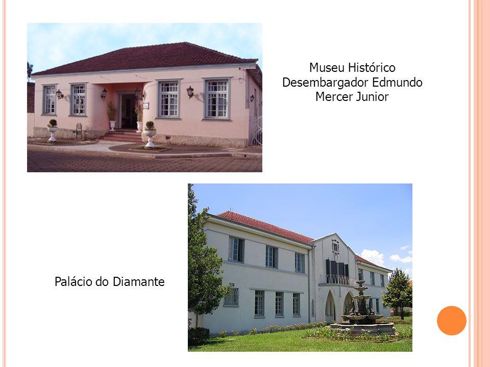 Museu Histórico Desembargador Edmundo Mercer Junior Palácio do Diamante