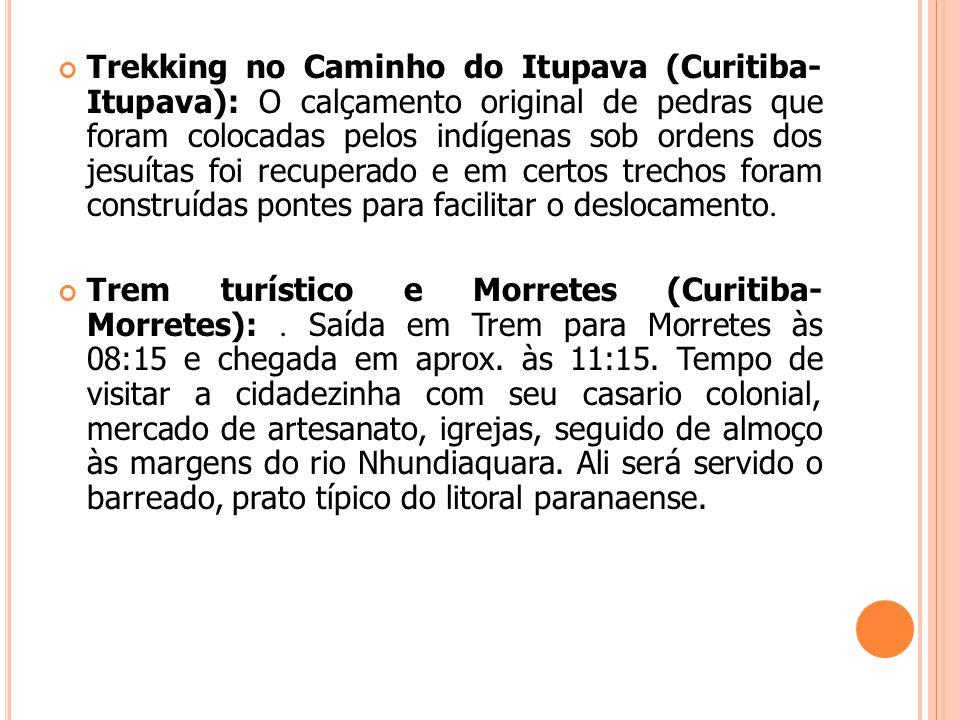 Trekking no Caminho do Itupava (Curitiba- Itupava): O calçamento original de pedras que foram colocadas pelos indígenas sob ordens dos jesuítas foi re