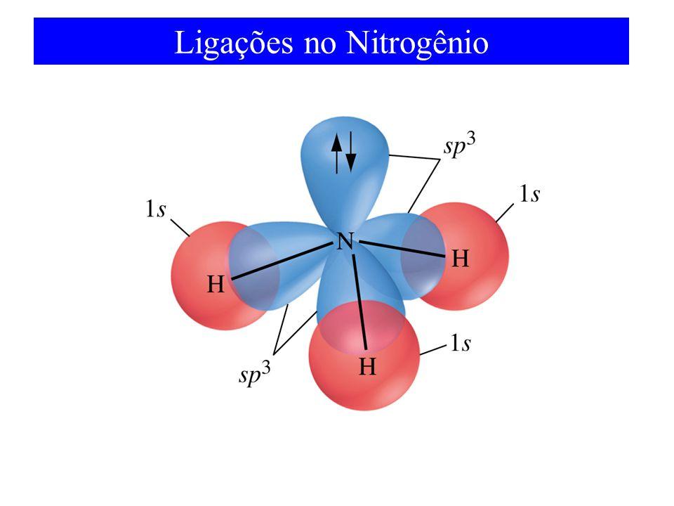 Ligações no Nitrogênio