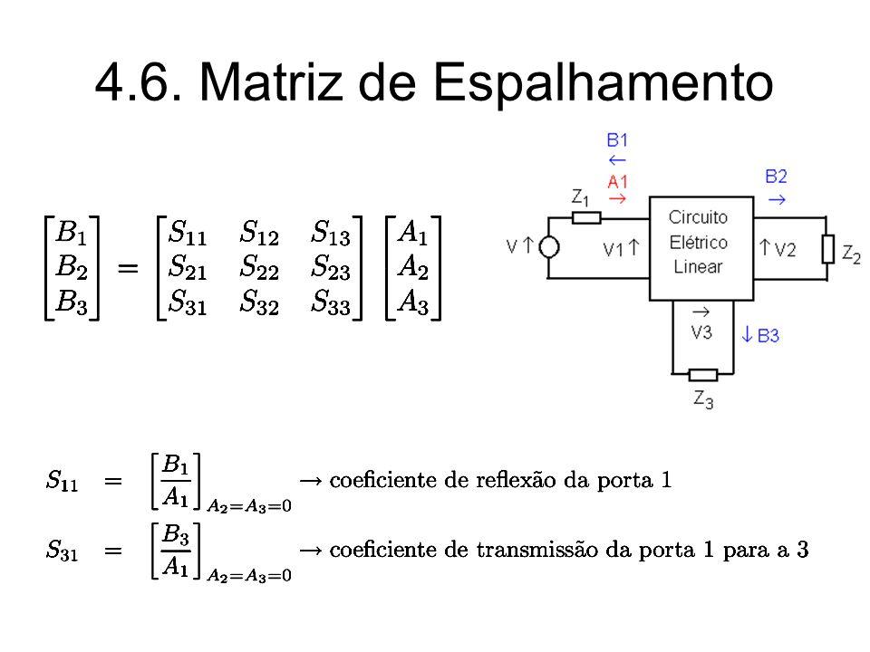 4.6. Matriz de Espalhamento
