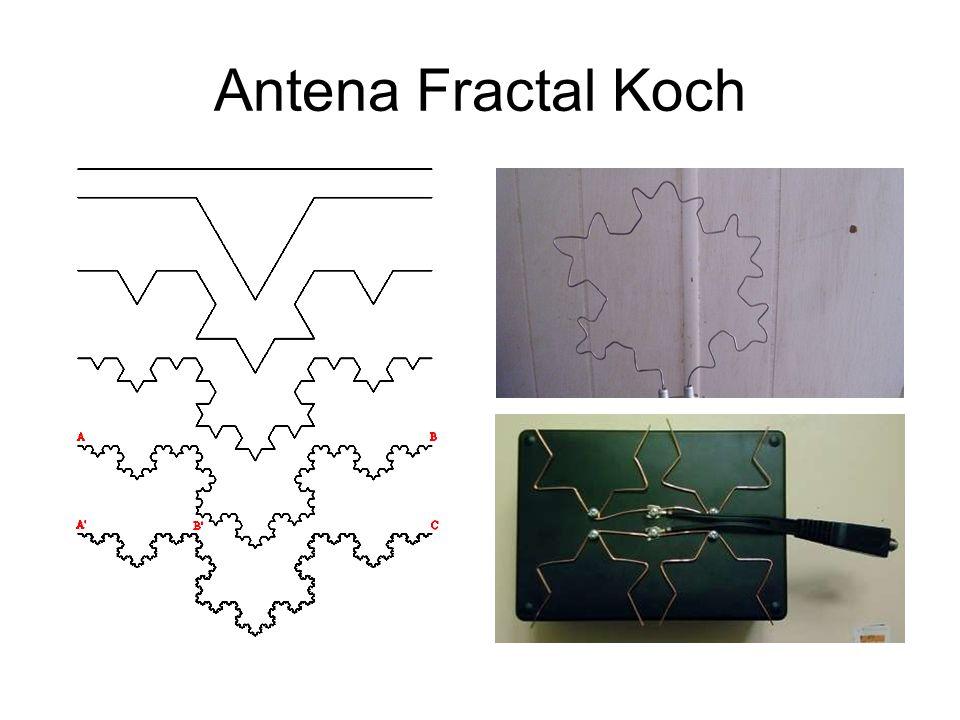 Antena Fractal Koch