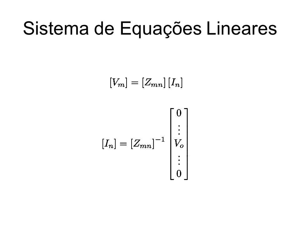 Sistema de Equações Lineares