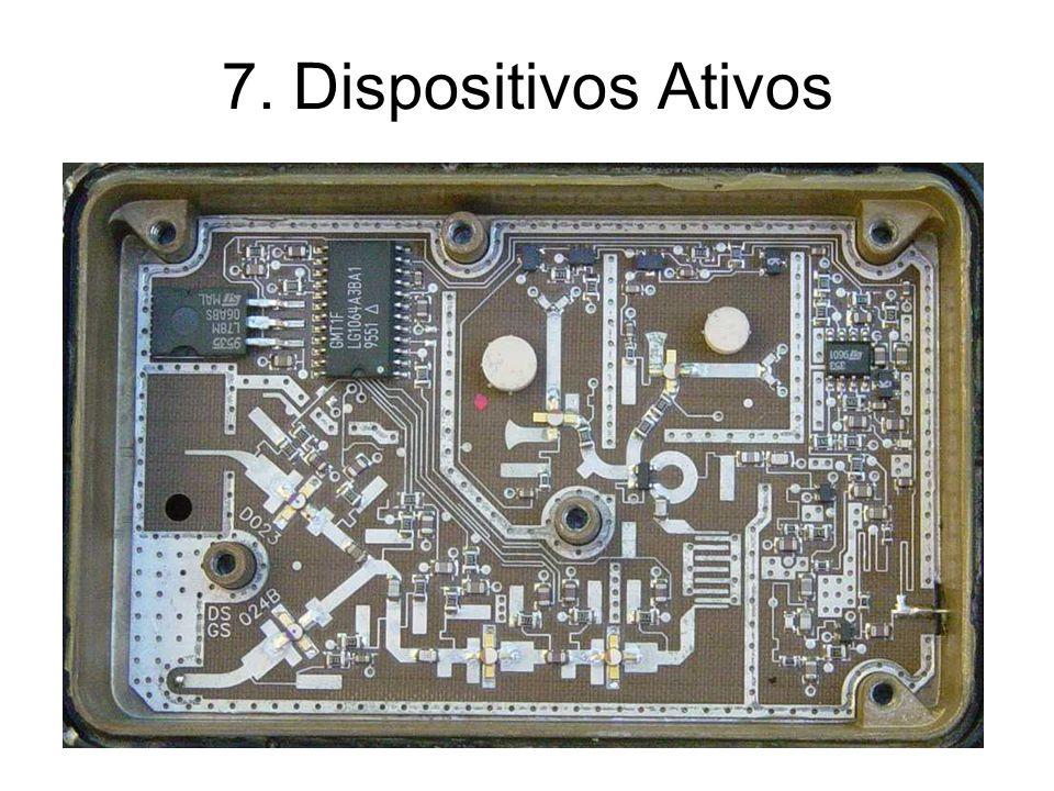 Conversão para 3 portas Transistor polarizado com o terminal 3 comum às portas 1 e 2 (Z F =0)