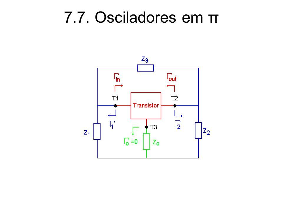7.7. Osciladores em π