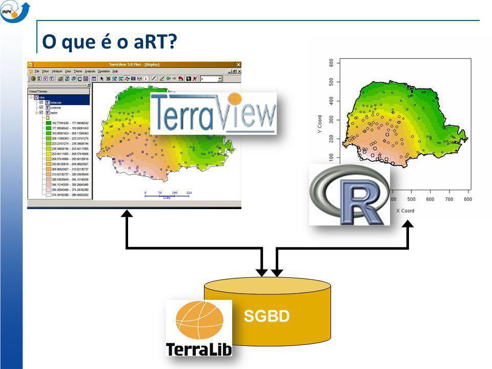 aRT no Windows SGBD