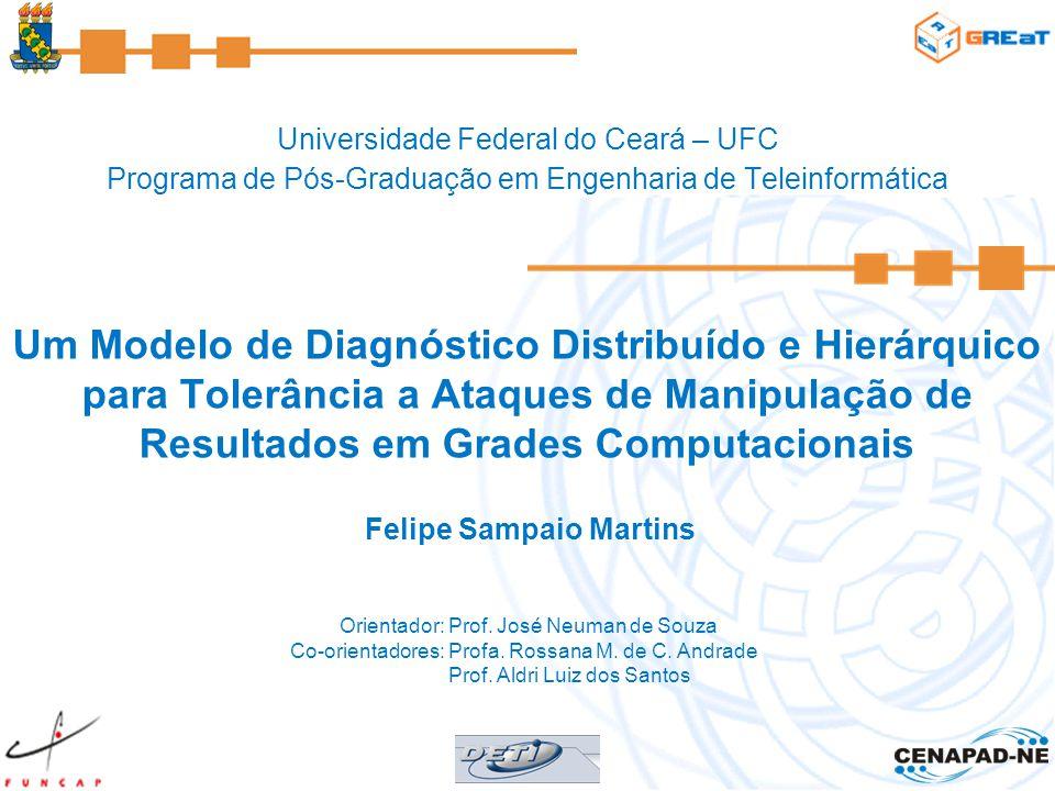 Universidade Federal do Ceará – UFC Programa de Pós-Graduação em Engenharia de Teleinformática Um Modelo de Diagnóstico Distribuído e Hierárquico para