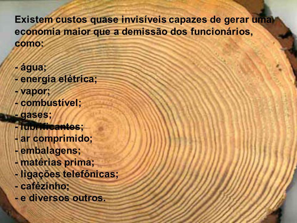 As estatísticas mostram os seguintes desperdícios no Brasil: Até 25% da energia elétrica gerada; Até 40% da água tratada; Cerca de 30% dos alimentos produzidos; Perdas superiores a 30% na construção civil.
