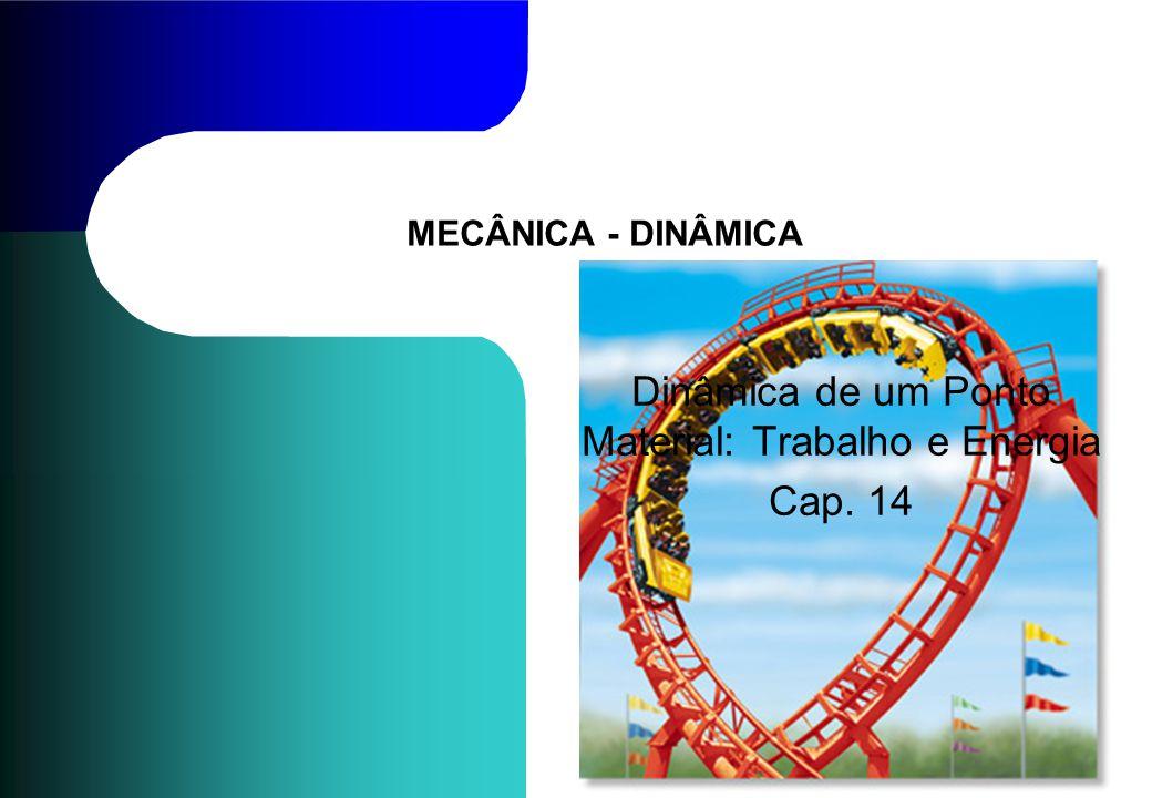MECÂNICA - DINÂMICA Dinâmica de um Ponto Material: Trabalho e Energia Cap. 14