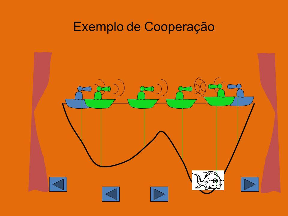 Exemplo de Cooperação