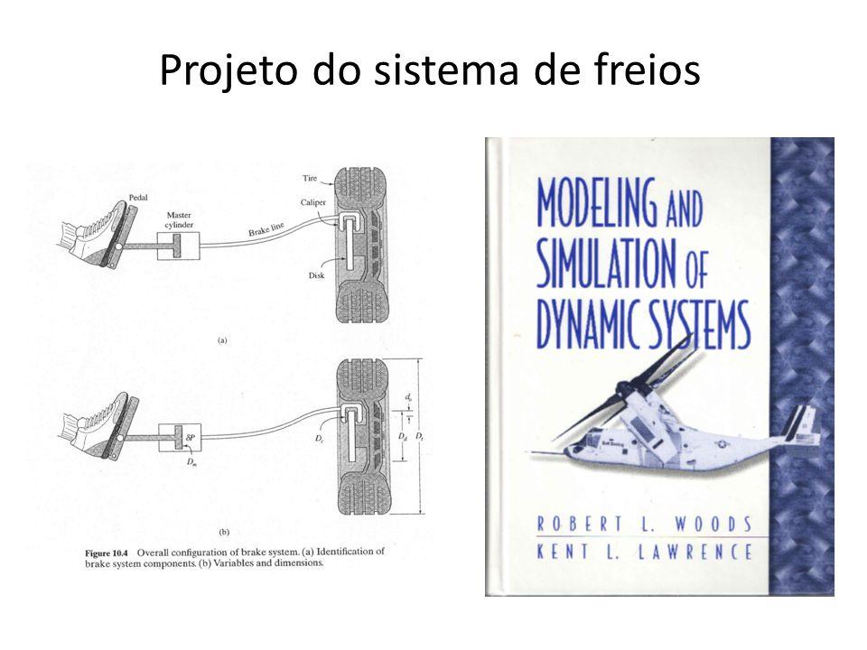 Projeto do sistema de freios