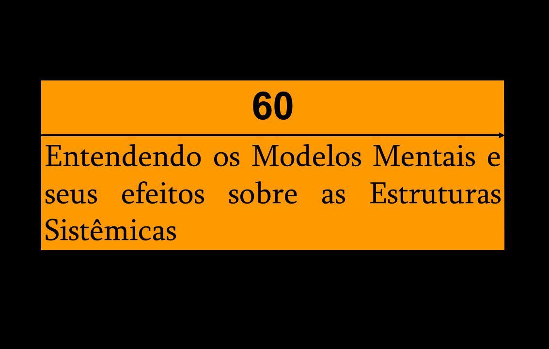 Entendendo os Modelos Mentais e seus efeitos sobre as Estruturas Sistêmicas 60