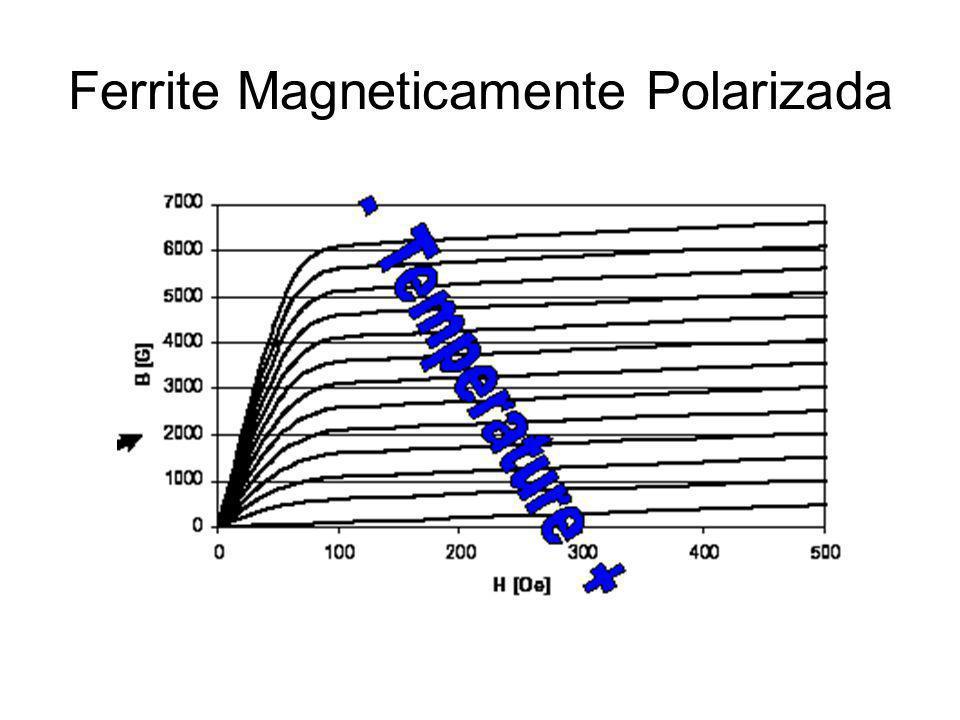 Ferrite Magneticamente Polarizada
