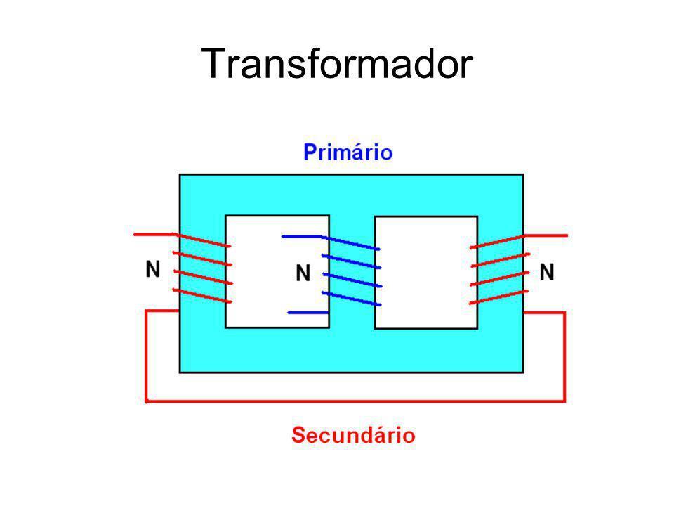 Circuitos Magnéticos Primário Secundário Relação de Transformação: