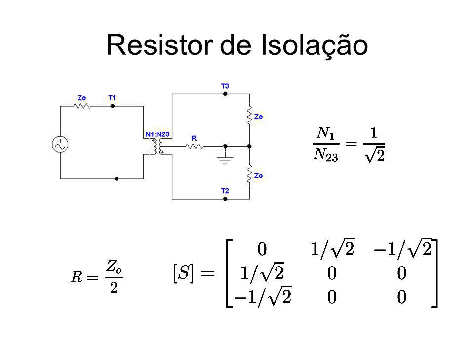 Resistor de Isolação