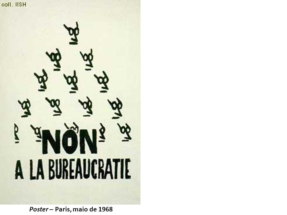 Poster – Paris, maio de 1968