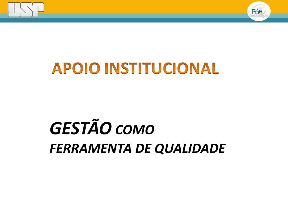 GESTÃO COMO FERRAMENTA DE QUALIDADE
