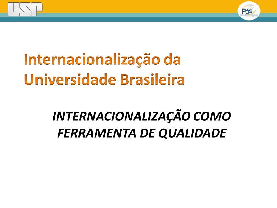 INTERNACIONALIZAÇÃO COMO FERRAMENTA DE QUALIDADE