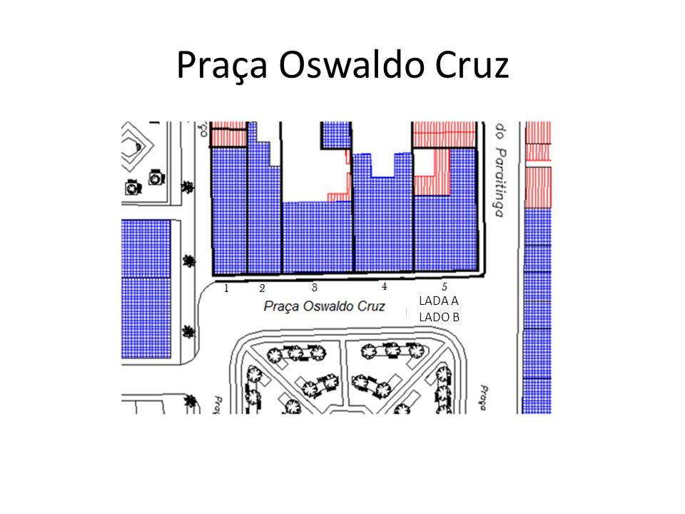 Praça Oswaldo Cruz LADA A LADO B