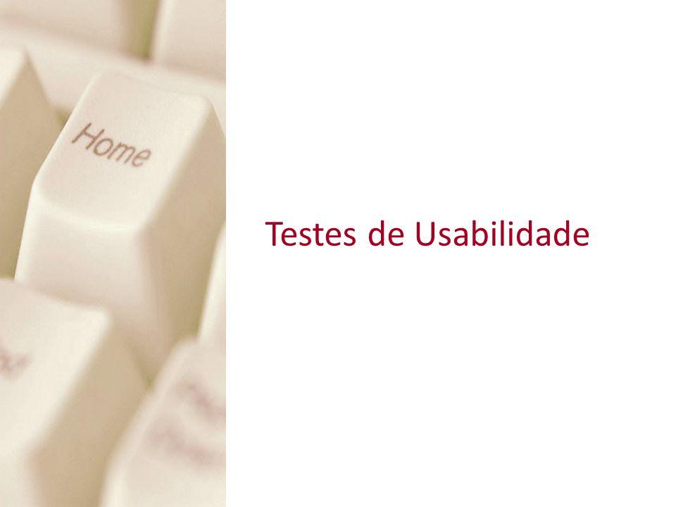 Testes em laboratórioTestes em laboratório Card SortingCard Sorting Eye TrackingEye Tracking Icon SortingIcon Sorting Testes comportamentais – Laboratório Estudo de caso