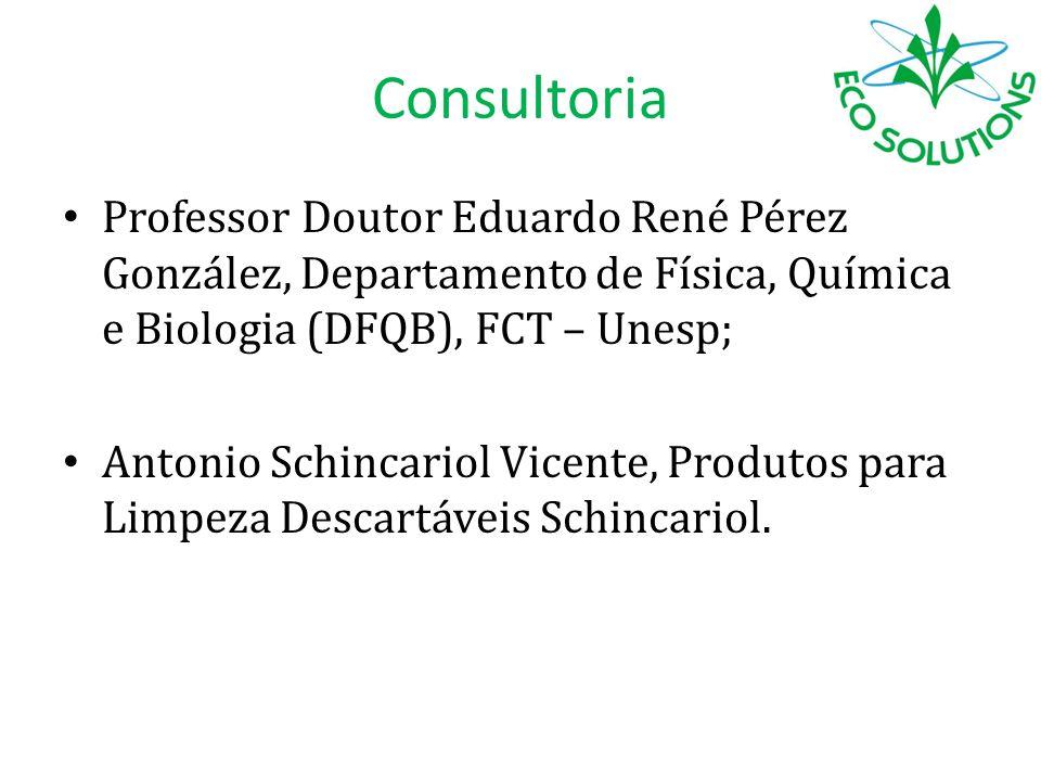 Consultoria Professor Doutor Eduardo René Pérez González, Departamento de Física, Química e Biologia (DFQB), FCT – Unesp; Antonio Schincariol Vicente,
