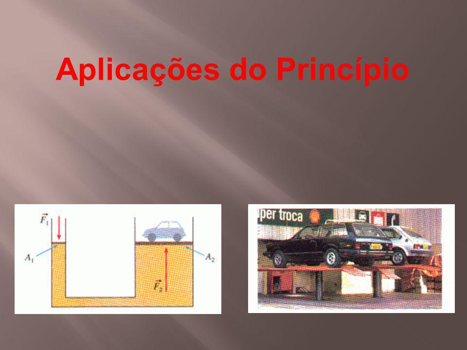 As prensas hidráulicas em geral, sistemas multiplicadores de força, são construídos com base no Princípio de Pascal.