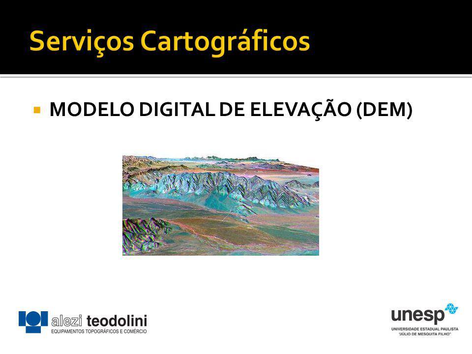 MODELO DIGITAL DE ELEVAÇÃO (DEM)