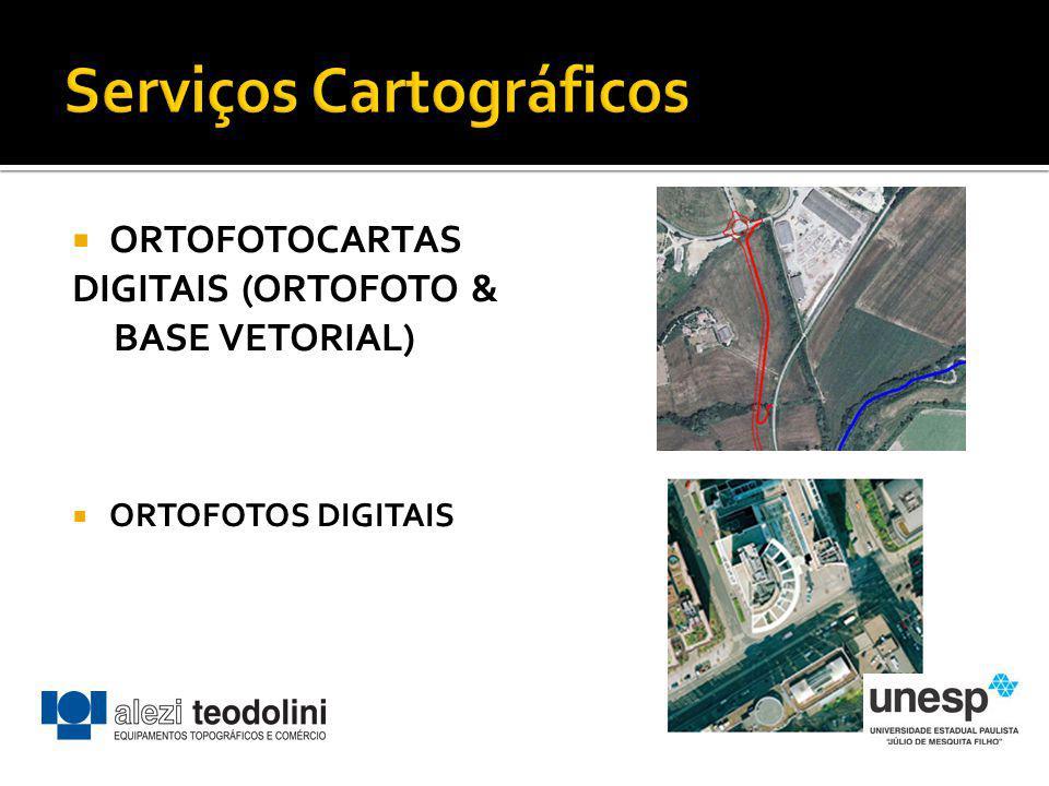 ORTOFOTOCARTAS DIGITAIS (ORTOFOTO & BASE VETORIAL) ORTOFOTOS DIGITAIS
