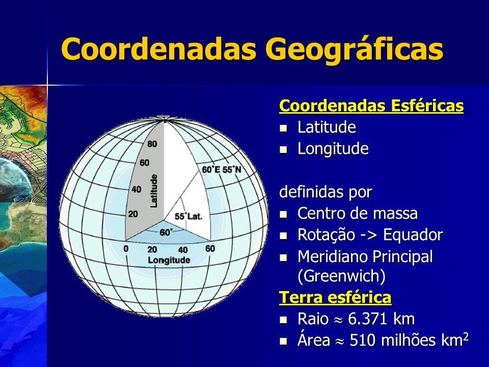 Só para lembrar......A Terra não é esférica ou elipsoidal.