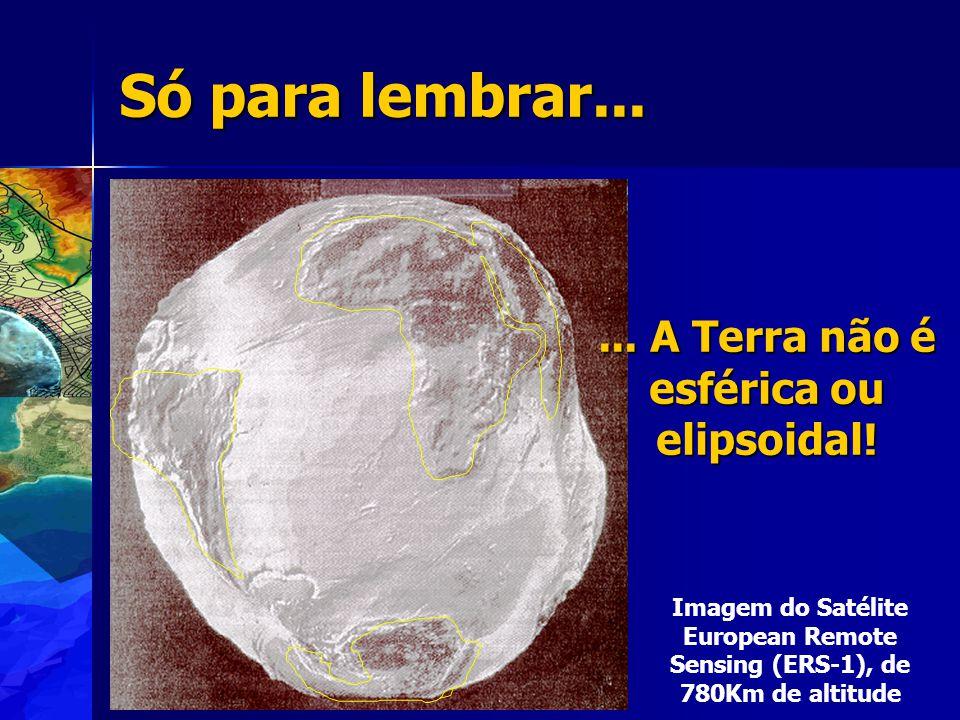 Projeção Por que projeta a superfície da Terra no plano.