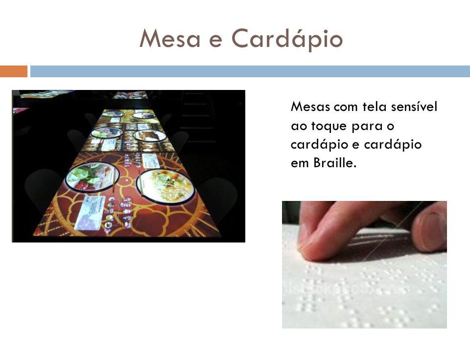 Mesas adaptadas (grandes) Gel bactericida ao lado de cada prato Espaço interno amplo e com piso regular Balcão de pagamento (baixo) Portas automáticas