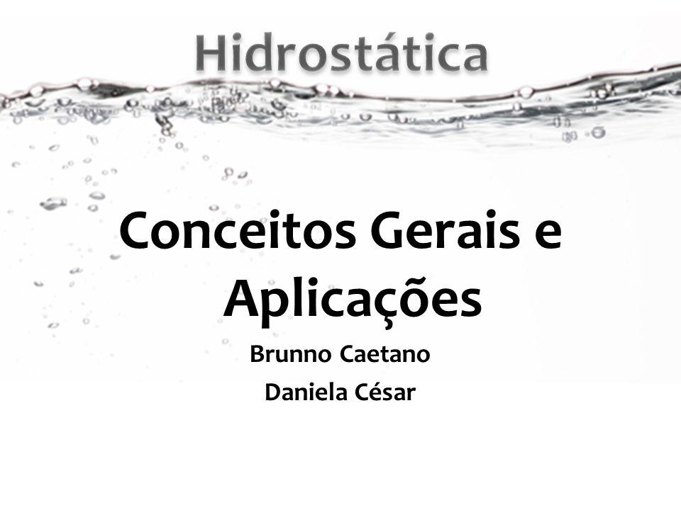 Conceitos Gerais e Aplicações Brunno Caetano Daniela César