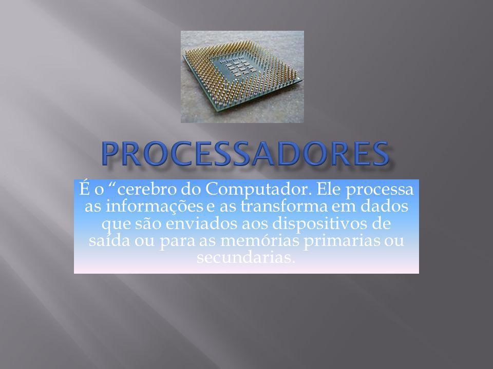 Os dispositivos de entrada e saída (E/S) são periféricos usados para a interação homem- computador.