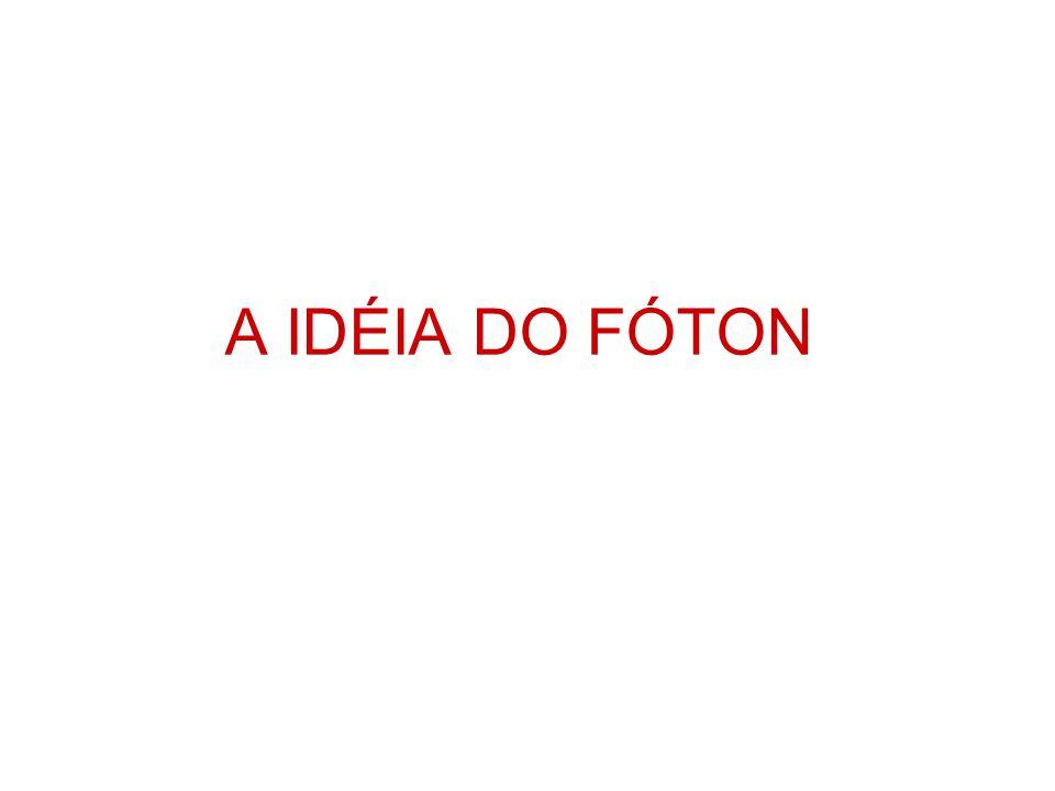 A IDÉIA DO FÓTON