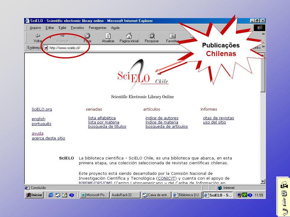 Publicações ChilenasPublicações