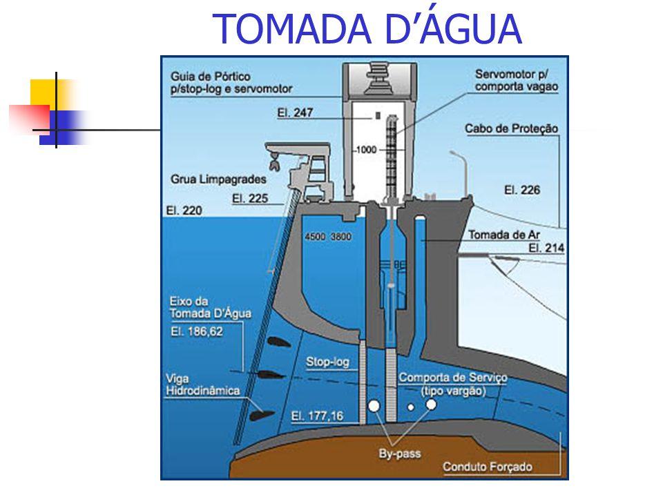 TOMADA DÁGUA