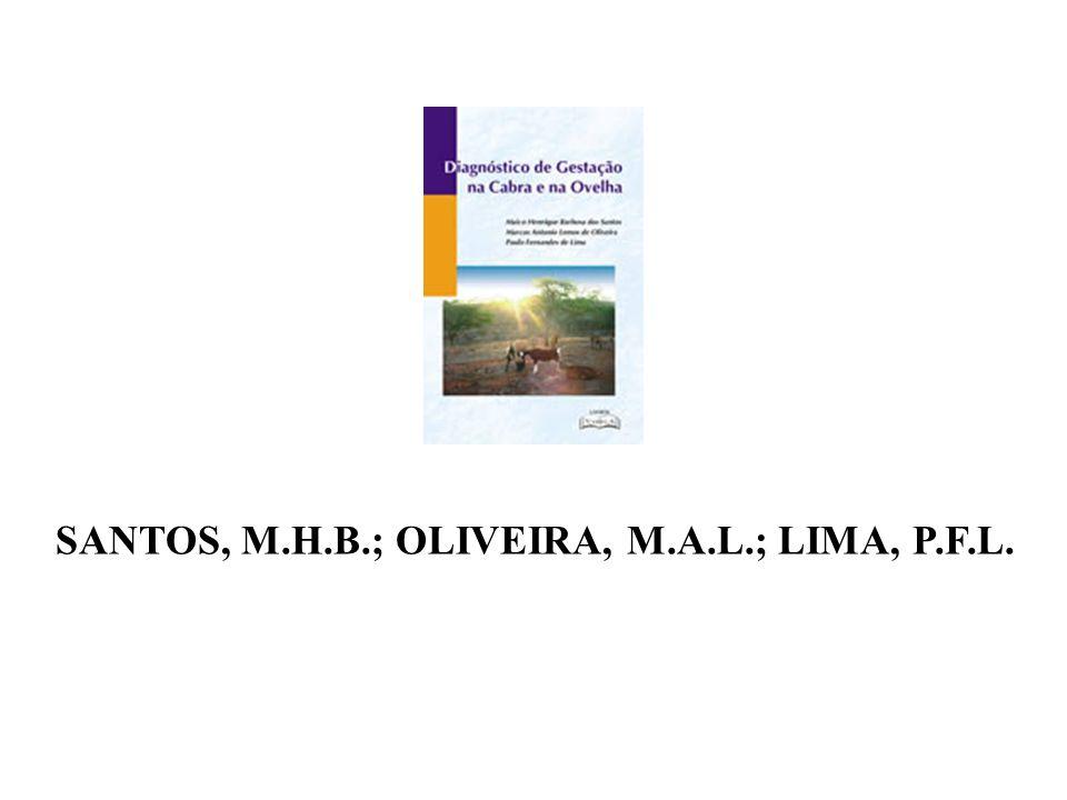 SANTOS, M.H.B.; OLIVEIRA, M.A.L.; LIMA, P.F.L.