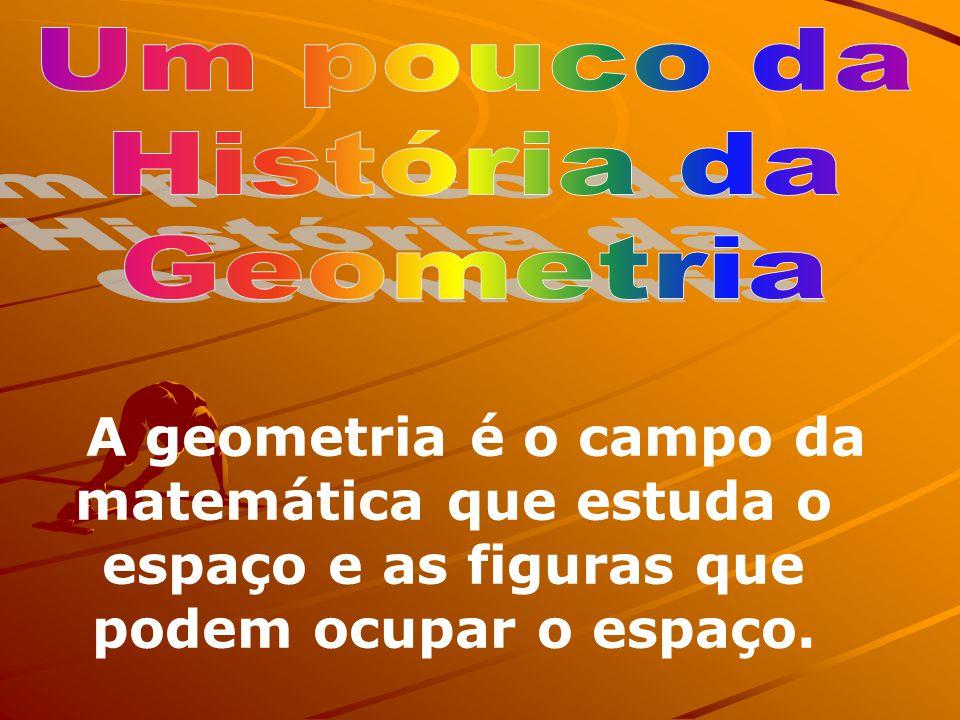 Historia da Geometria; Áreas e Volumes; Exemplos de aplicação – relações do tema com conhecimentos de outras áreas; Sugestões de abordagens; Outros ti