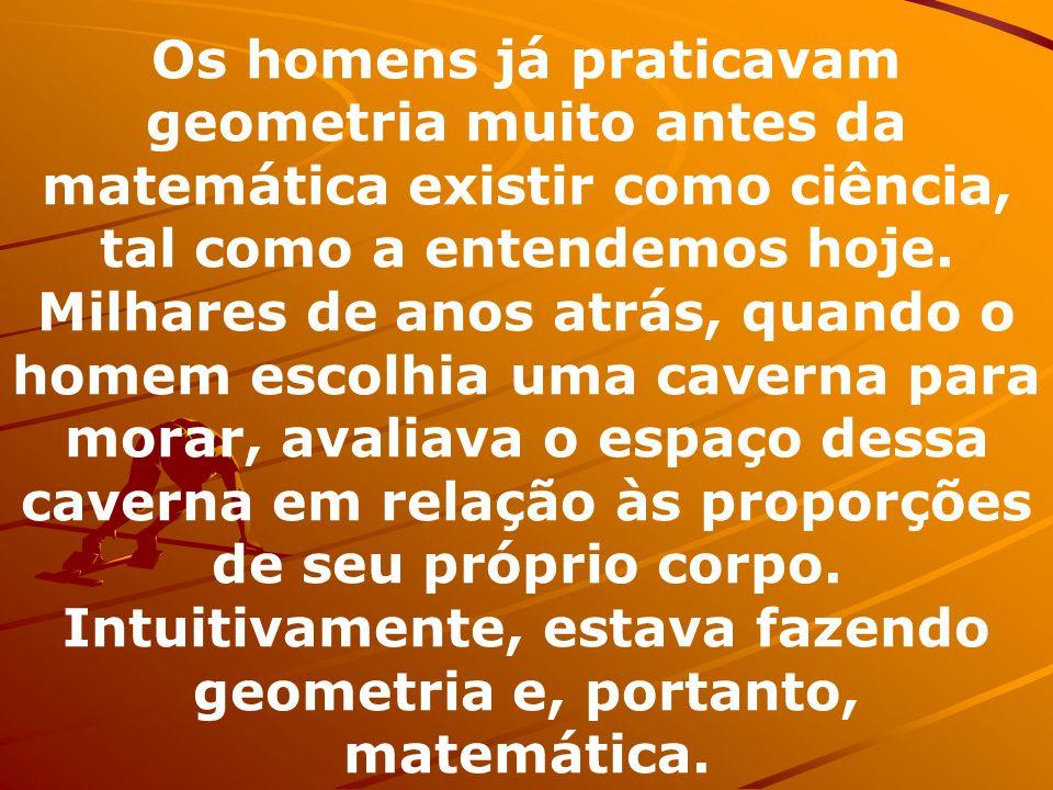 A geometria é o campo da matemática que estuda o espaço e as figuras que podem ocupar o espaço.