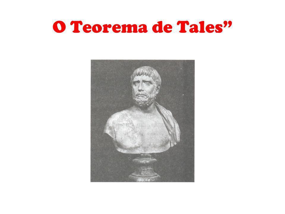 O Teorema de Tales