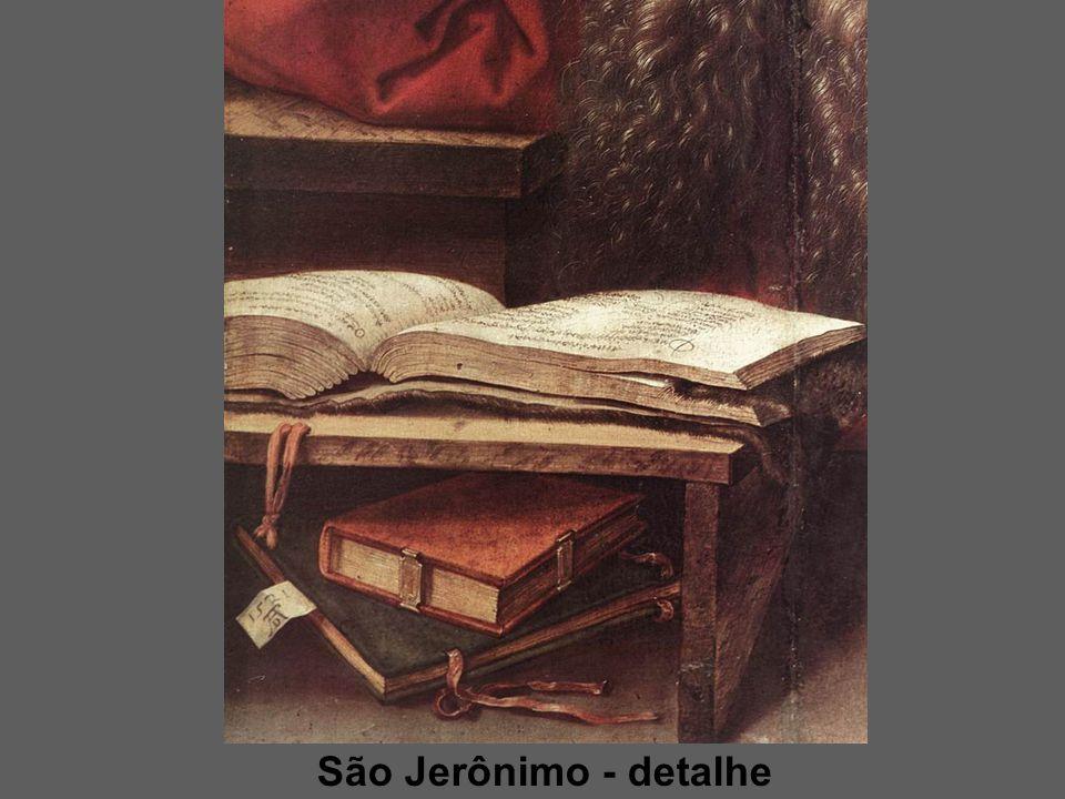 São Jerônimo - detalhe